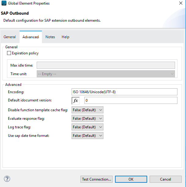 When using SAP Connector to execute BAPI function, the java