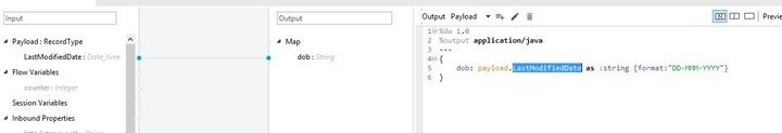 Convert datetime format to date format