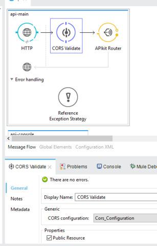 How to use CORs (Cross origin)?