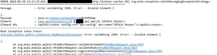 Request validation - RAML vs Json Schema
