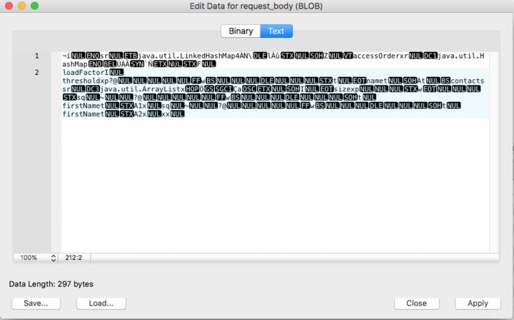 insert json data into mysql database